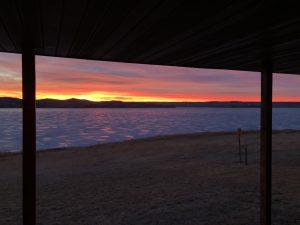 Beautiful Lake Oahe Sunset